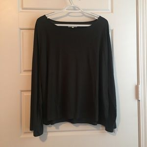 NEVER WORN Madewell Long Sleeve Flow Top